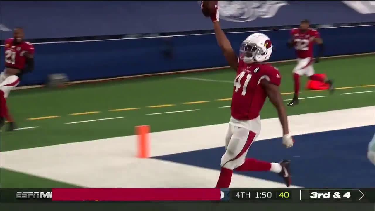 [Highlight] Kenyan Drake 69-yard td at the end of the game