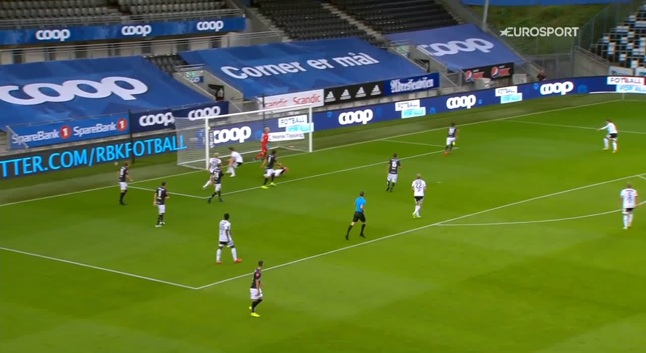 Rosenborg 1-0 Viking - Pål André Helland 40'