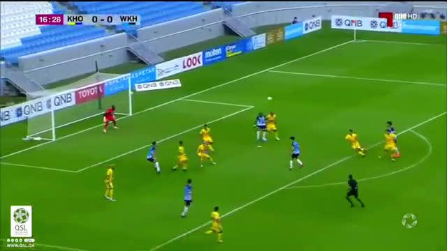 Al Khor 0-(1) Al Wakrah - Mohamed Benyettou bicycle kick goal