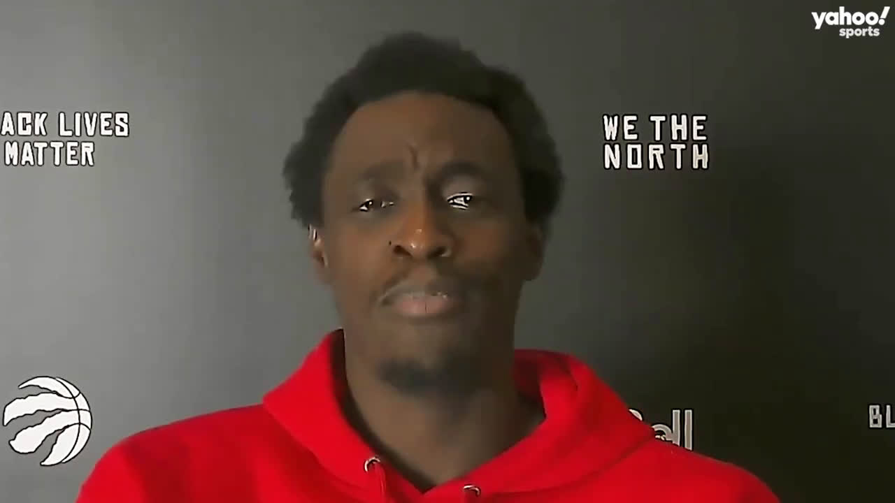 Pascal Siakam claps back at reporter for saying