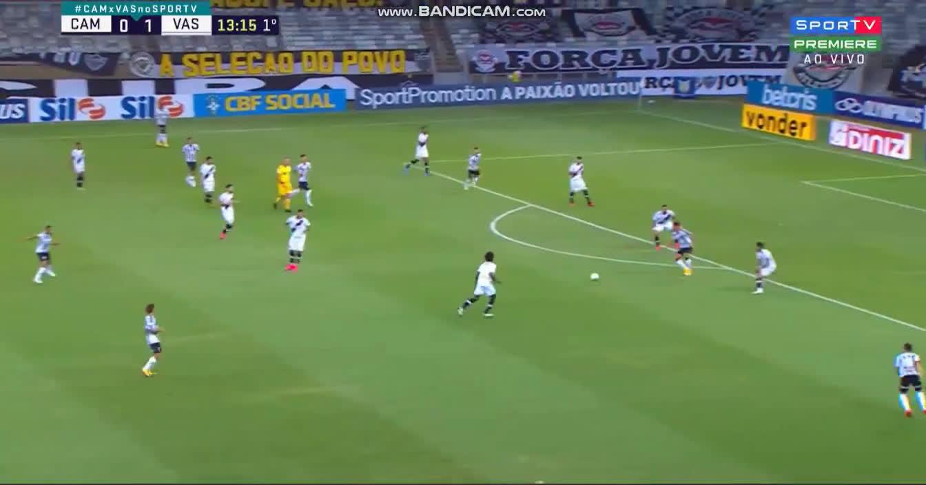 Atlético Mineiro [1] - 1 Vasco da Gama - Arana 14'