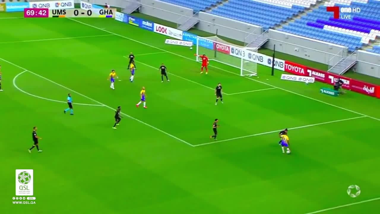 Umm Salal 0-(1) Al Gharafa - Homam Ahmed nice goal
