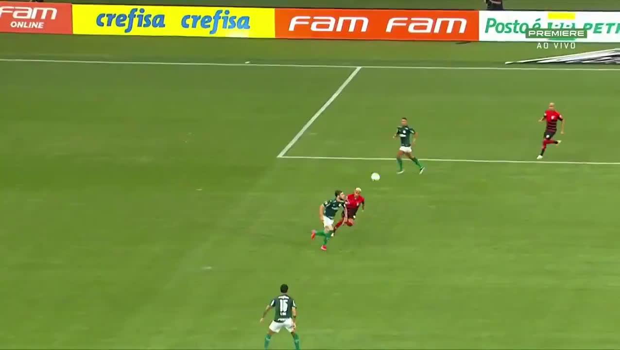 Palmeiras [1] - 0 Atlético - GO | Matias Vinã 24' (great goal)