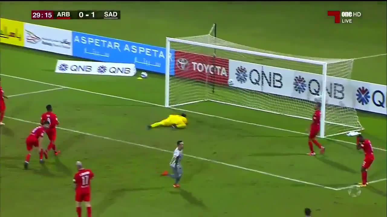 Al Arabi 0-(2) Al Sadd - Santi Cazorla goal