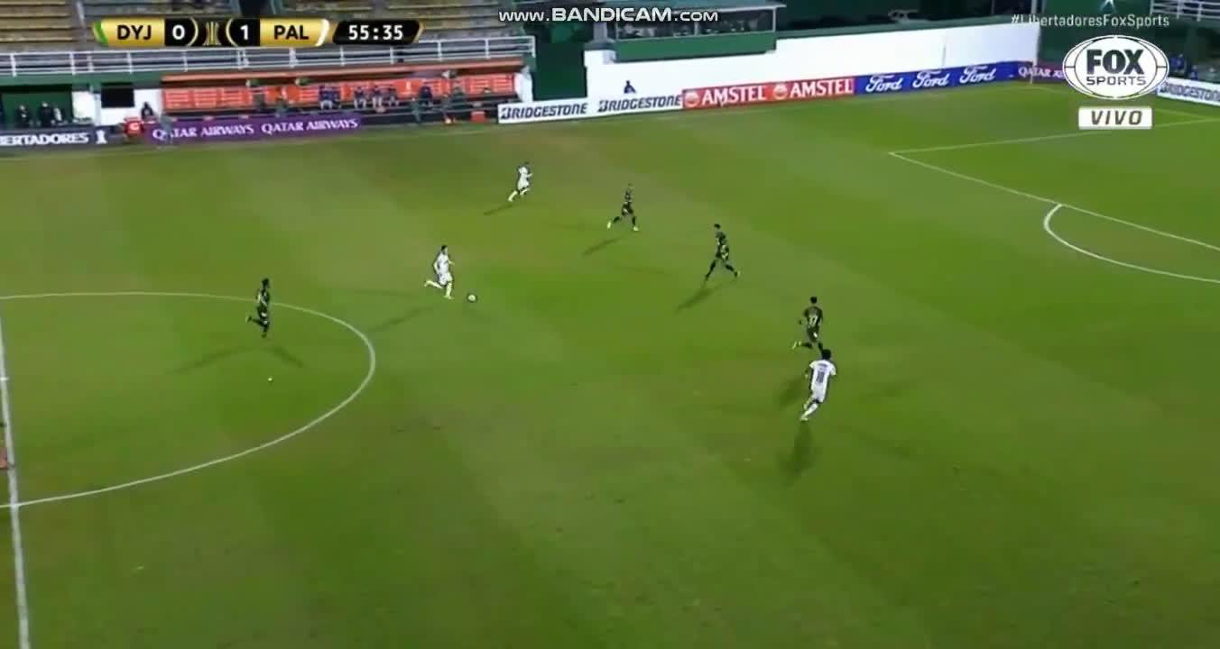 Defensa y Justicia 0-[2] Palmeiras - Rony 55'