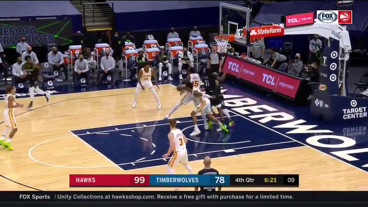 [Highlight] Capela records his 10th block of the game to achieve a triple double