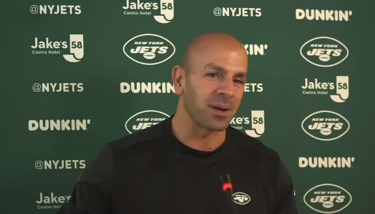[Highlight] Saleh talks about the time where he forgot he was the head coach of the Jets