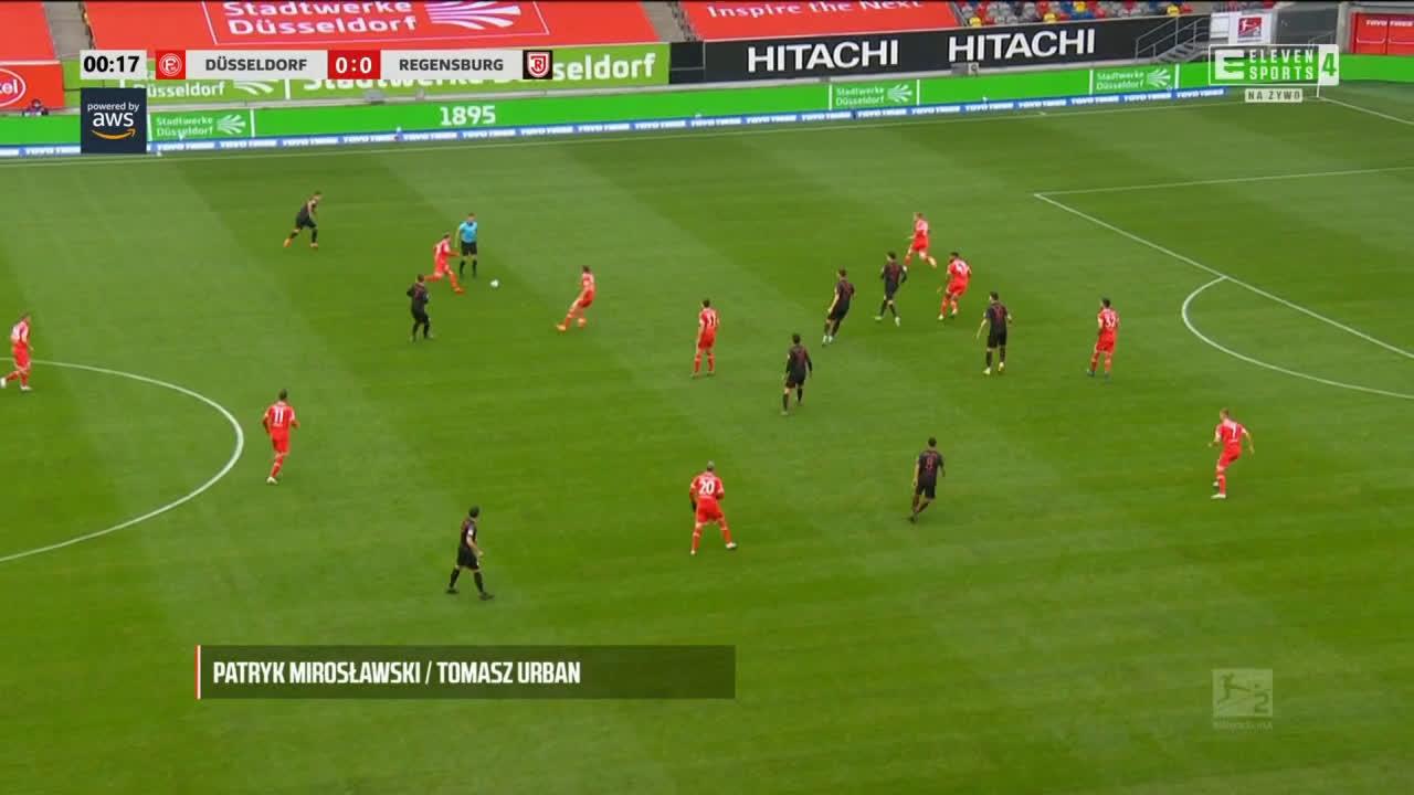 Fortuna Düsseldorf 0-1 Jahn Regensburg - Andreas Albers 1'