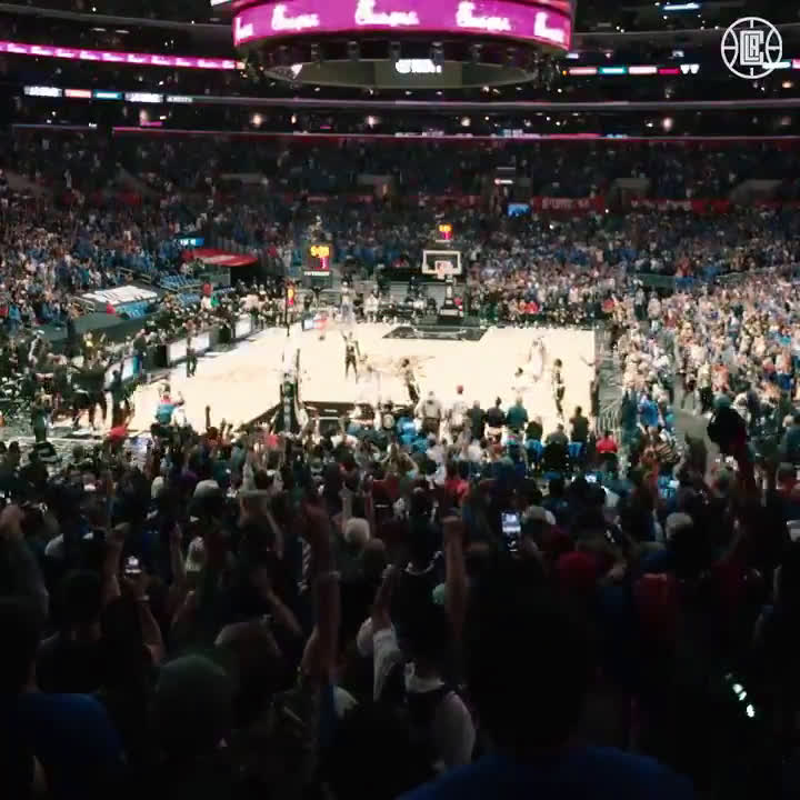 [LA Clippers] You brought the energy, #ClipperNation