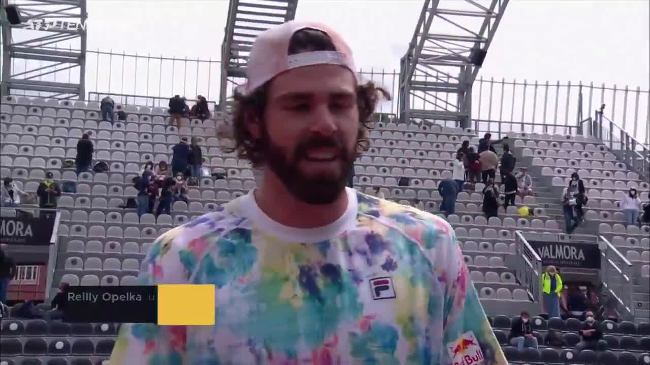 Opelka's thoughts on his first masters semi-final coming on clay