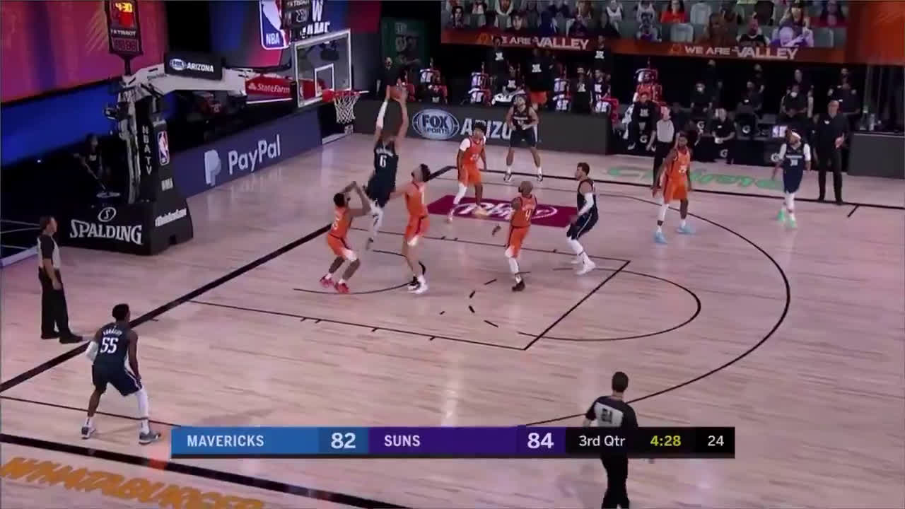 [Highlight] Luka and KP connect for the alley-oop