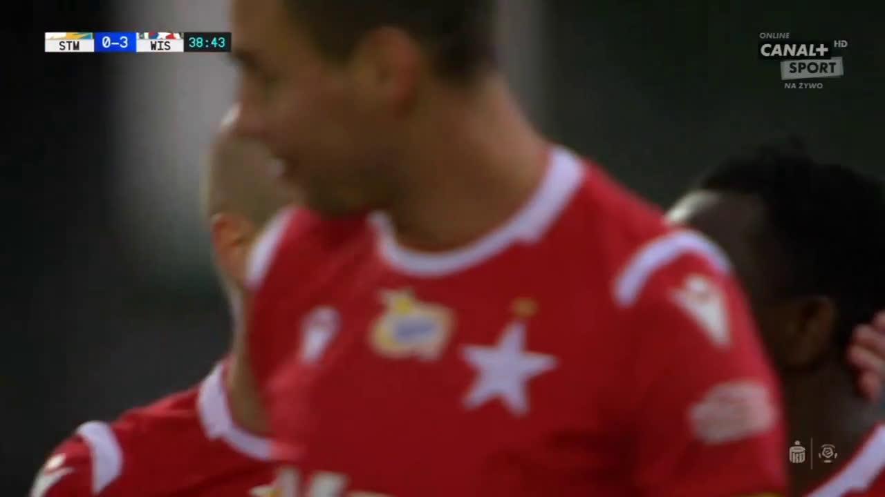 Stal Mielec 0-3 Wisła Kraków - Chuca 39' (Polish Ekstraklasa)