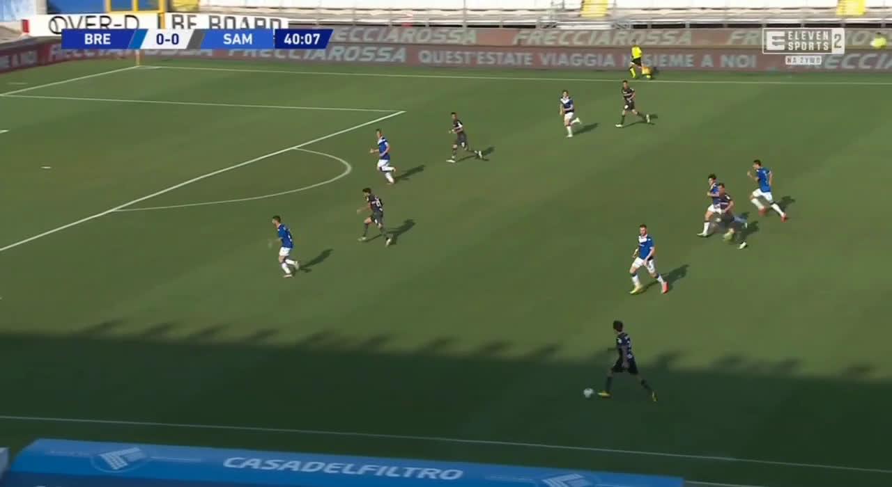 Brescia 0-1 Sampdoria - Mehdi Léris 41'