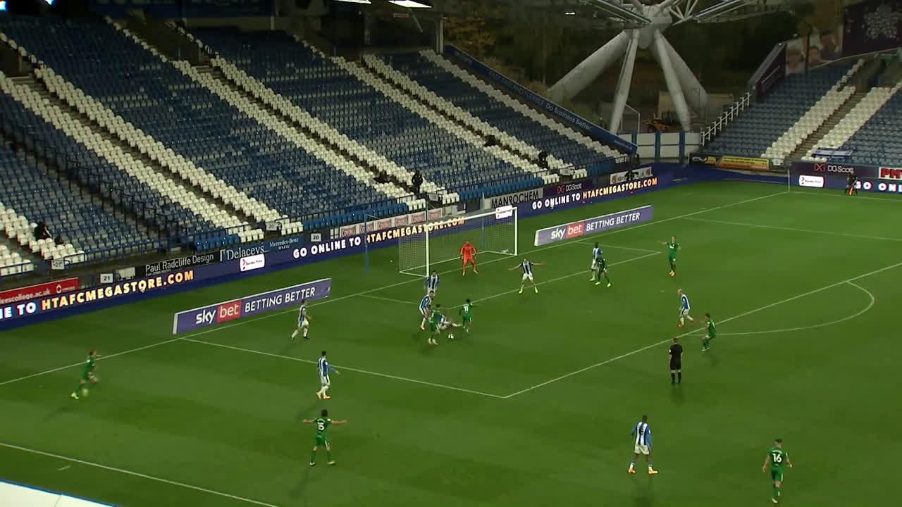 Huddersfield 1 - Preston [1] (Alan Browne '51)