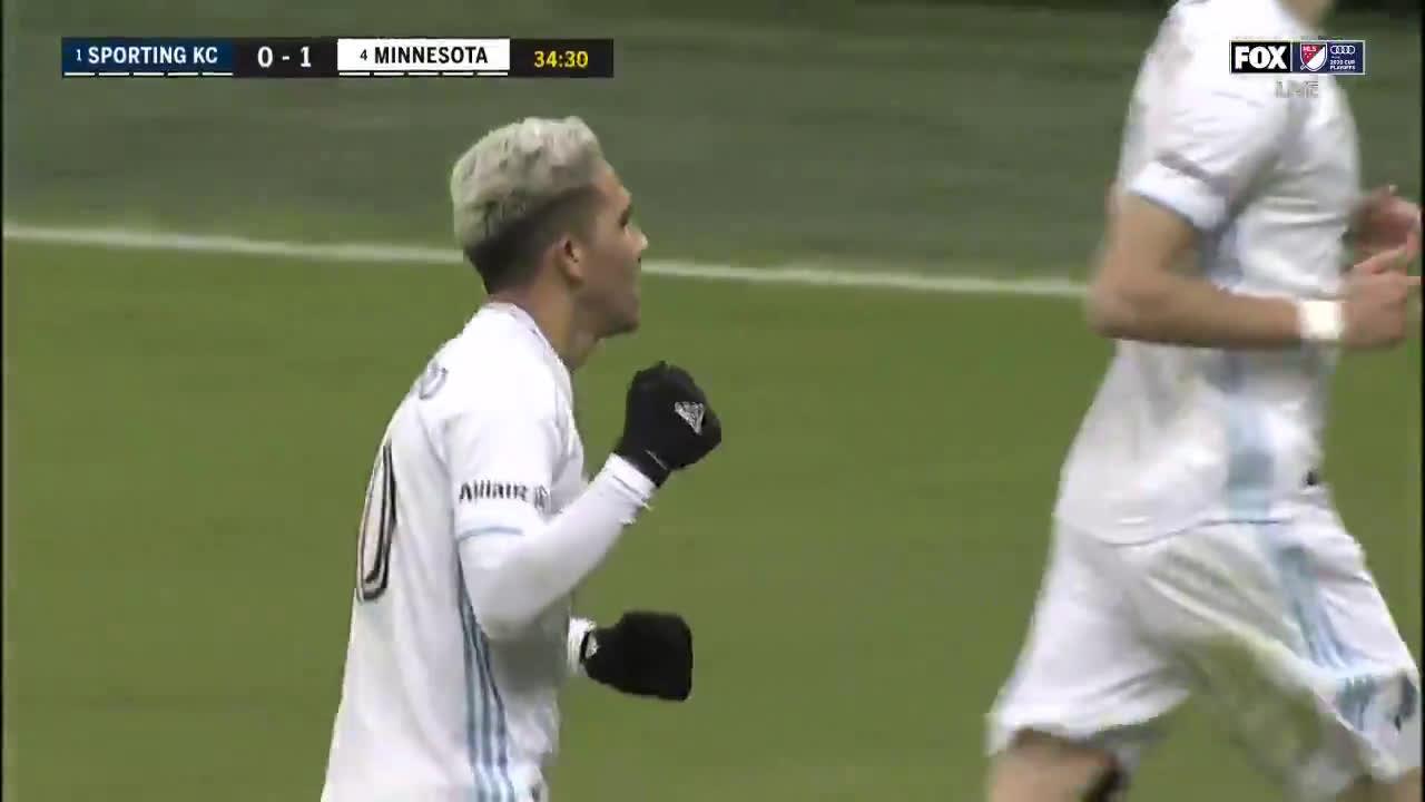Sporting KC 0-[2] Minnesota United - Kevin Molino 35'