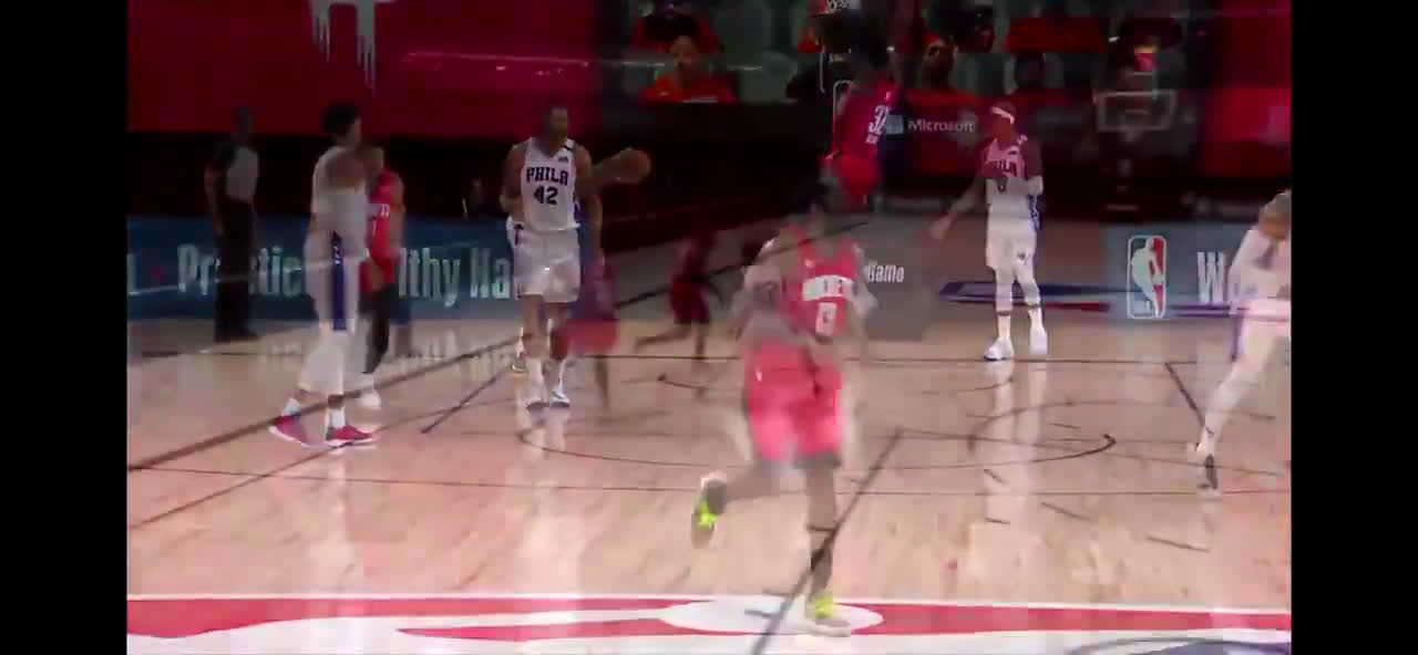 [Highlight] Harden with a behind the back assist to Jeff Green
