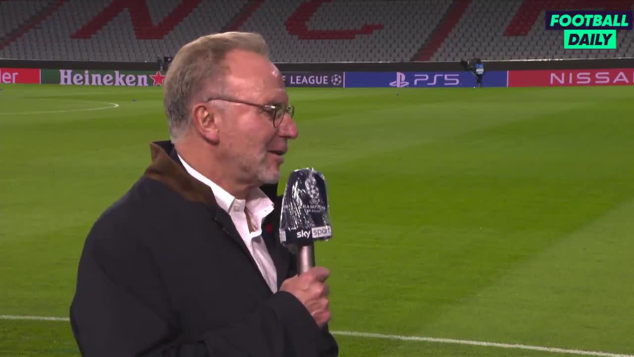 Bayern Munich CEO Karl-Heinz Rummenigge: