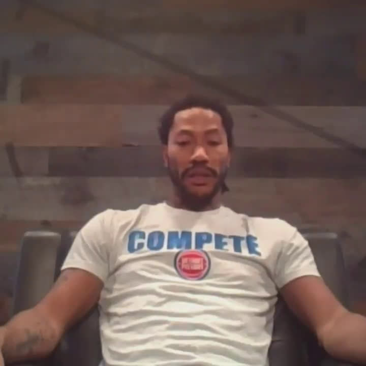 Derrick Rose on mentoring Killian Hayes: