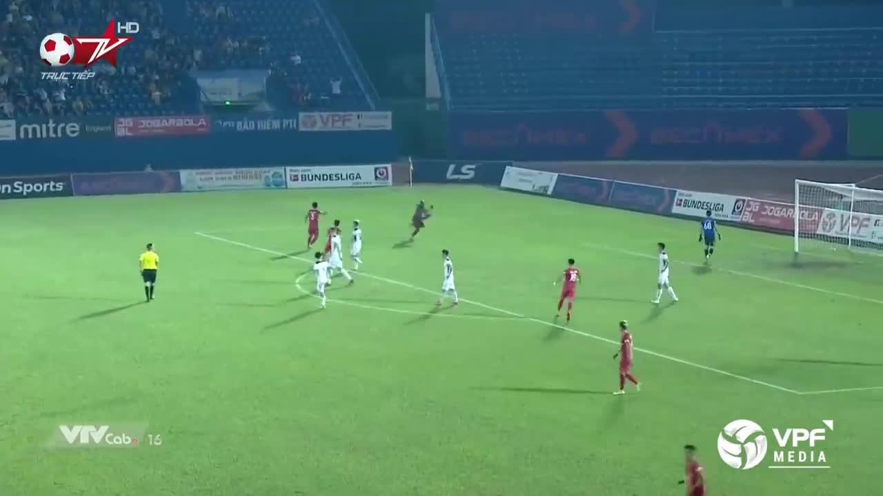 Becamex Binh Duong (3)-2 Hoang Anh Gia Lai - Rabo Ali nice goal