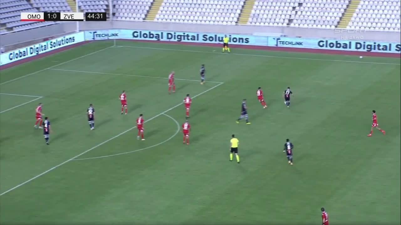 Omonia 1-[1] Crvena zvezda - Mirko Ivanić 45'