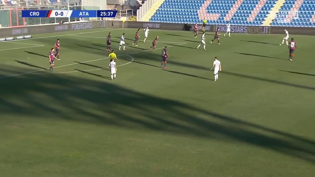 Crotone 0-1 Atalanta - Luis Muriel 26'