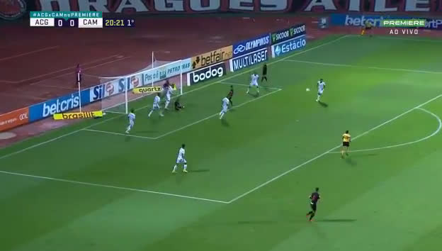 Goianiense [1] - 0 Atlético Mineiro - 21' Oliveira great goal
