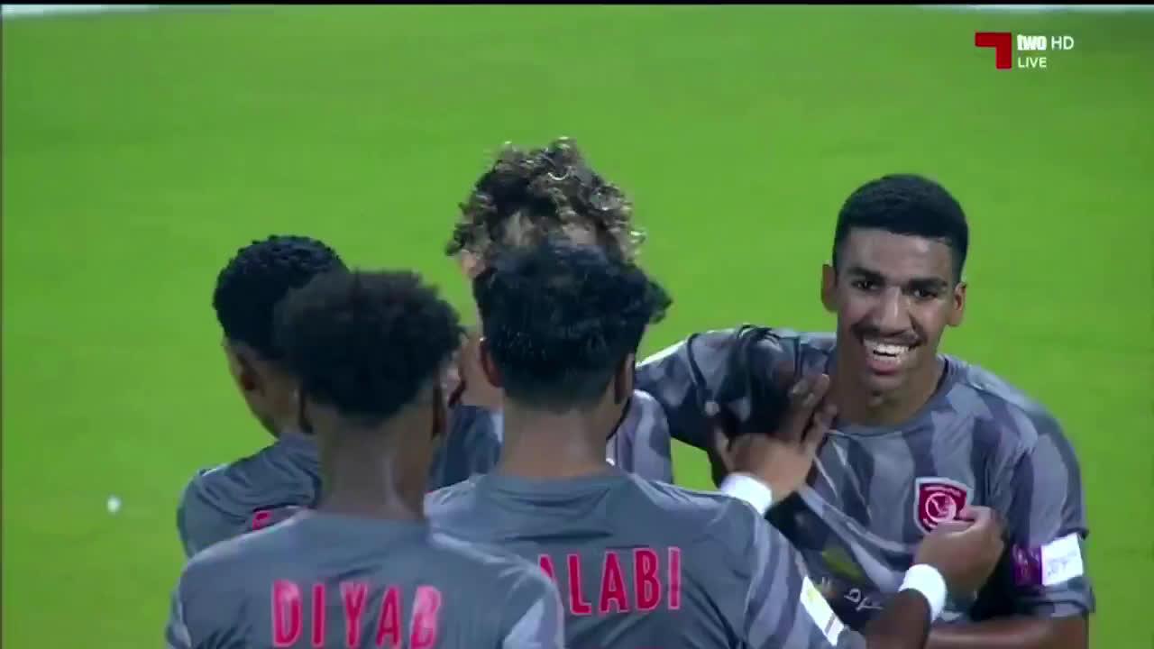 Al-Duhail [1]-0 Qatar SC - Yacine Lafrid great goal (43')