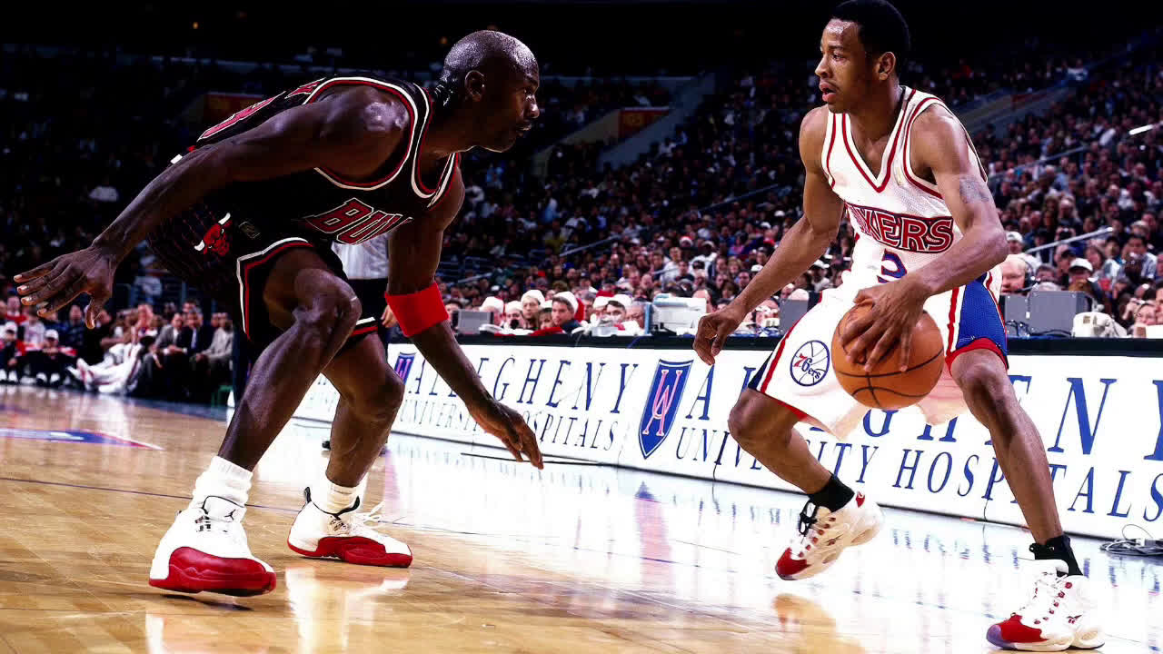 Iverson on Jordan's Mentorship, 'Anybody that know Allen Iverson know Black Jesus was it for me... I never looked at somebody that didn't look real. Never. Like the got damn guy was glowing or something man.'