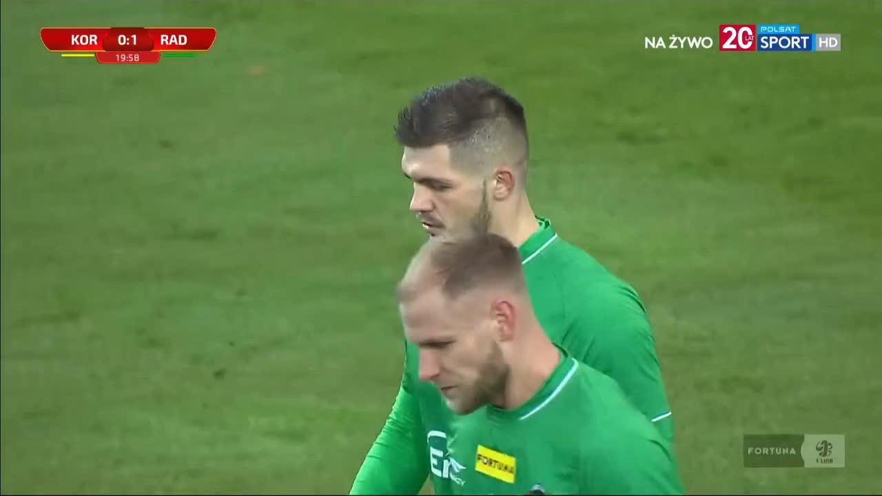 Korona Kielce 0-1 Radomiak Radom - Karol Angielski 20' (Polish I liga)