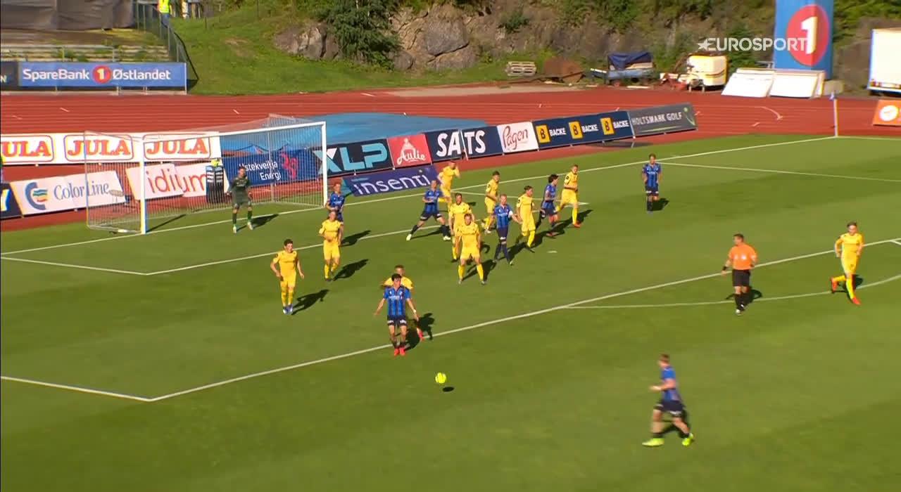 Stabæk [1]-2 Bodø/Glimt - Mats Solheim 23'
