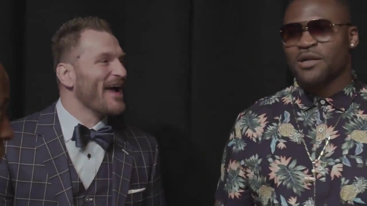 Just months after being manhandled by Stipe, Francis is shocked with how polite Stipe is: