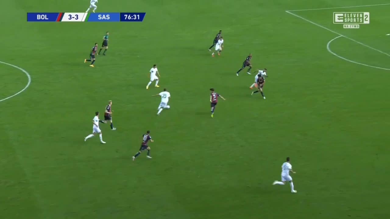 Bologna 3-[4] Sassuolo - Takehiro Tomiyasu OG 77'