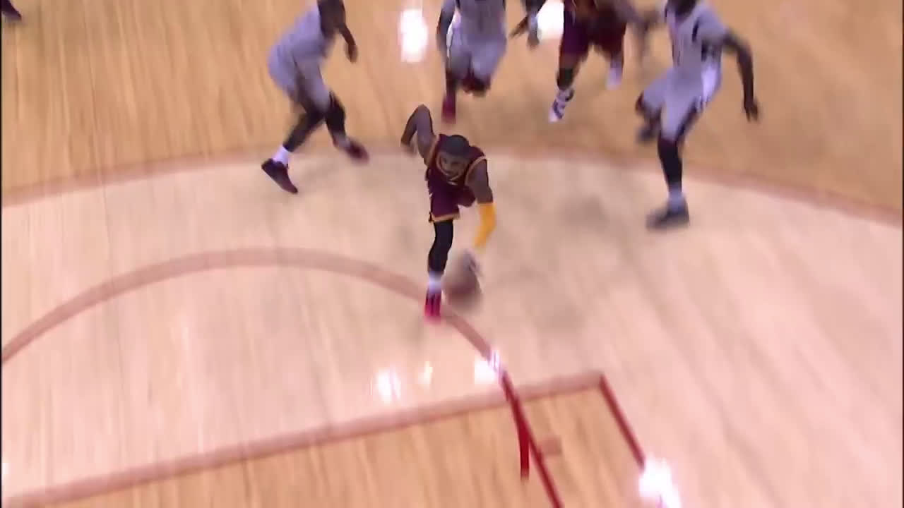 [By Any Means Basketball] LeBron's finishing mirroring that of smaller guards