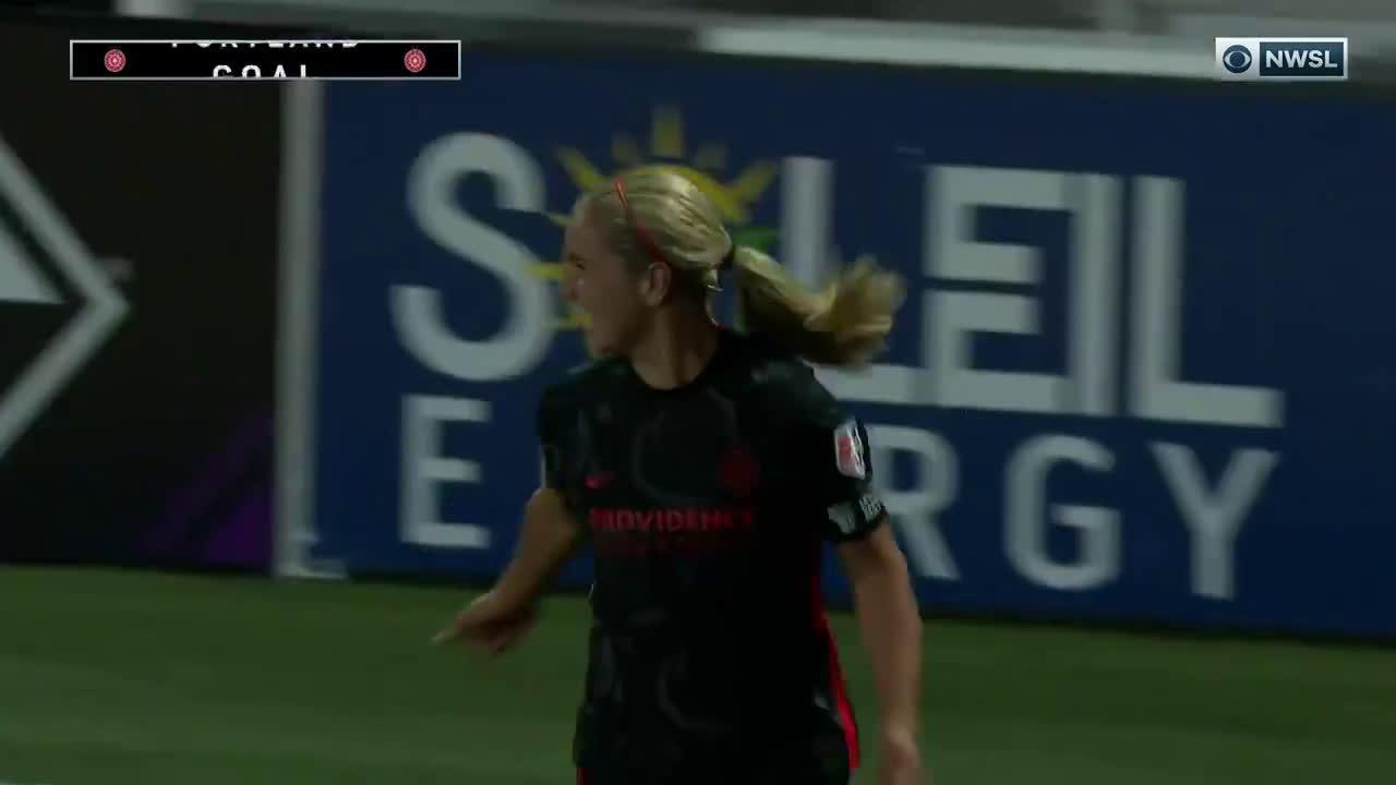 Portland Thorns FC [1]-0 Washington Spirit - Horan goal