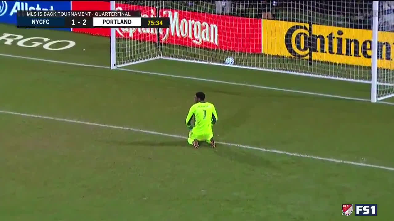 NYCFC 1 - [3] Portland Timbers - Andy Polo 76' (great goal)