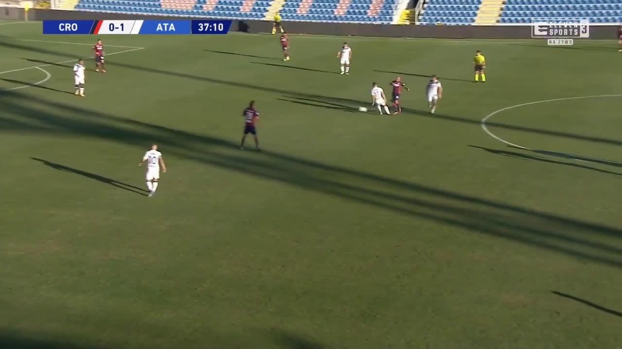 Crotone 0-2 Atalanta - Luis Muriel 38'