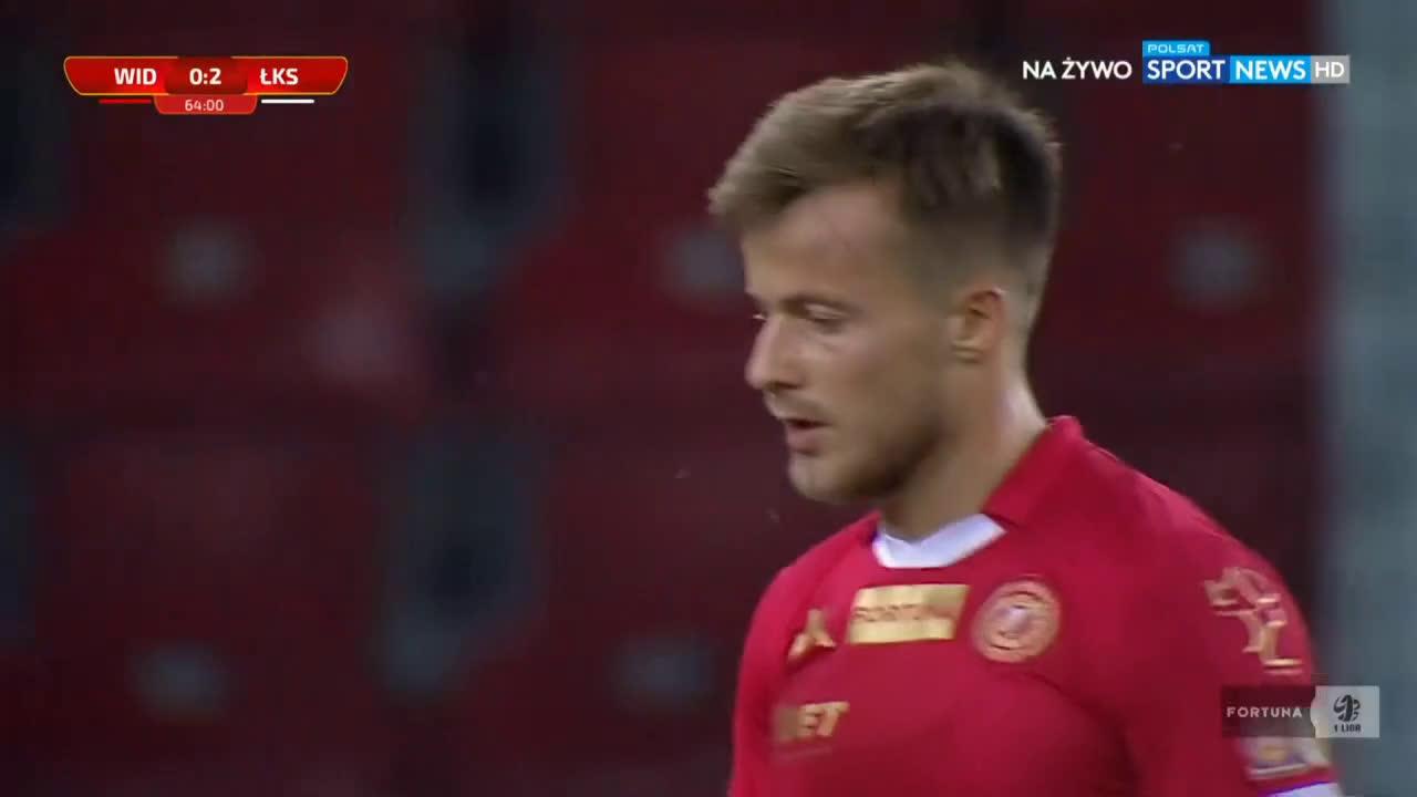 Widzew Łódź 0-2 ŁKS Łódź - Adrian Klimczak 64' (Polish I liga)