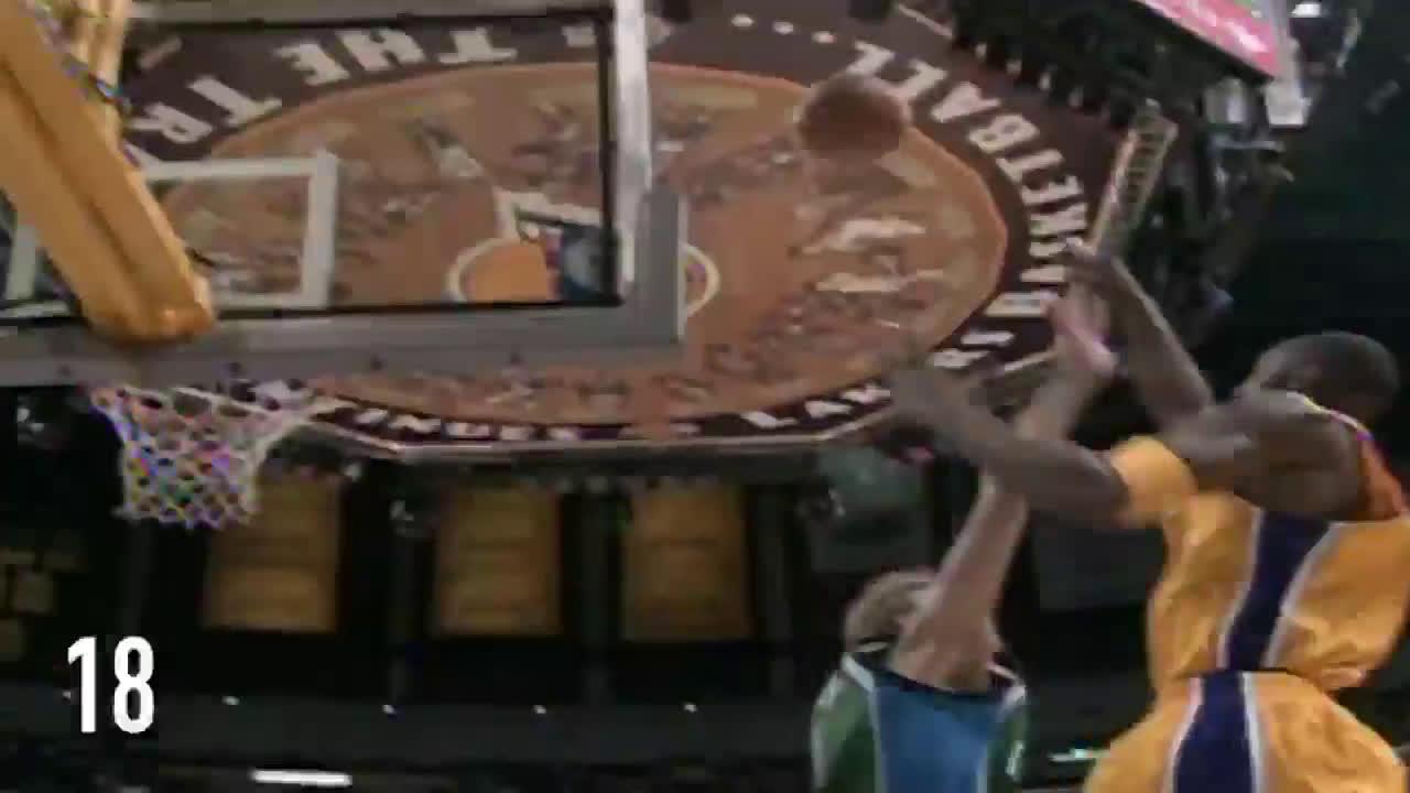 Kobe outscores Dallas 62-61 through 3 quarters (2005)