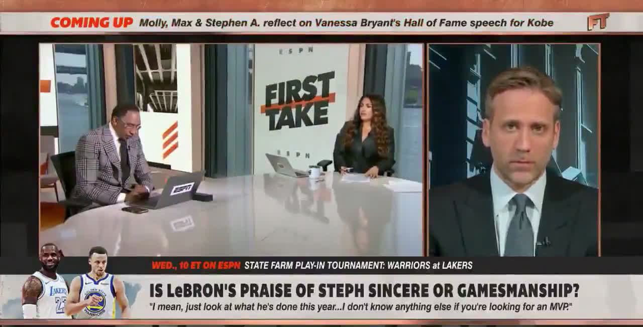Molly on First Take gives her thoughts on Lebron James