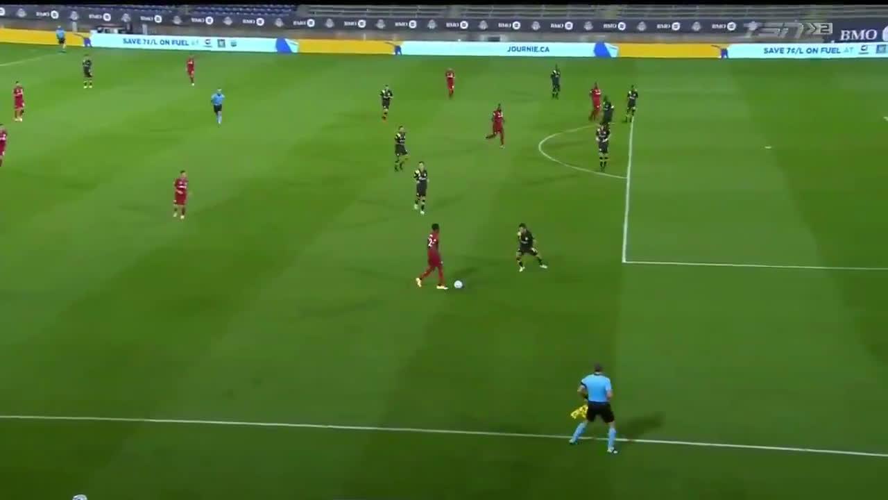 Toronto FC [3] - 1 Columbus Crew - Richie Laryea 76' (Great Goal)