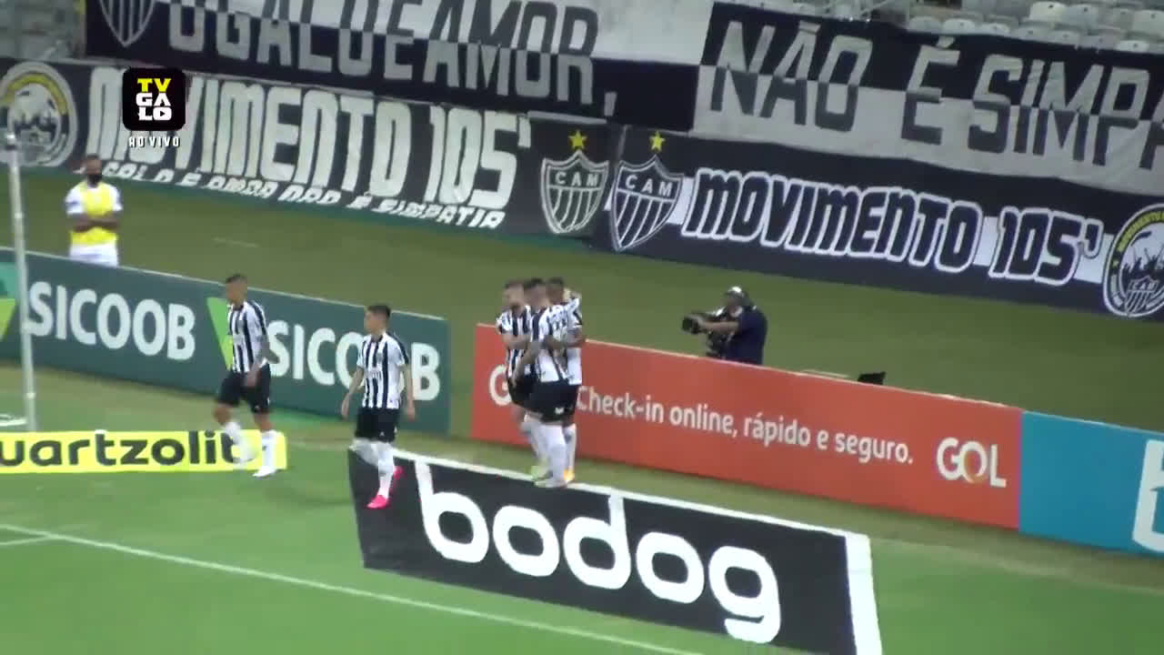 Atlético Mineiro [4] - 1 Vasco da Gama - Keno 37'