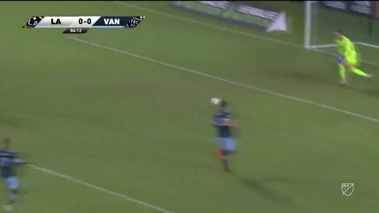 Chicharito with a horrendous miss from point-blank range vs. Vancouver