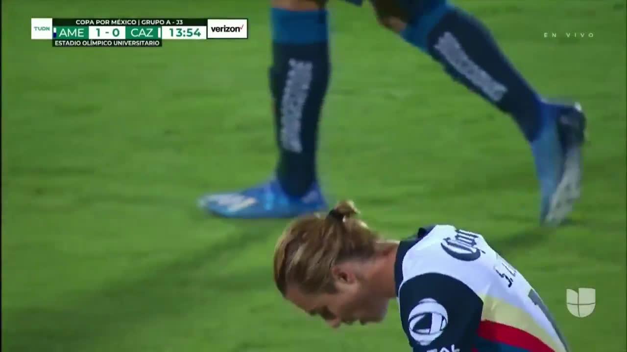 America [1] - 0 Cruz Azul Sebastian Cordova '13 Nice Goal