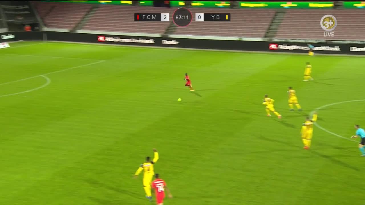 FC Midtjylland [3]-0 Young Boys - Mabil 84'