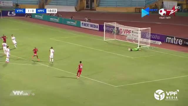 Viettel (2)-0 Hai Phong - Bruno amazing goal