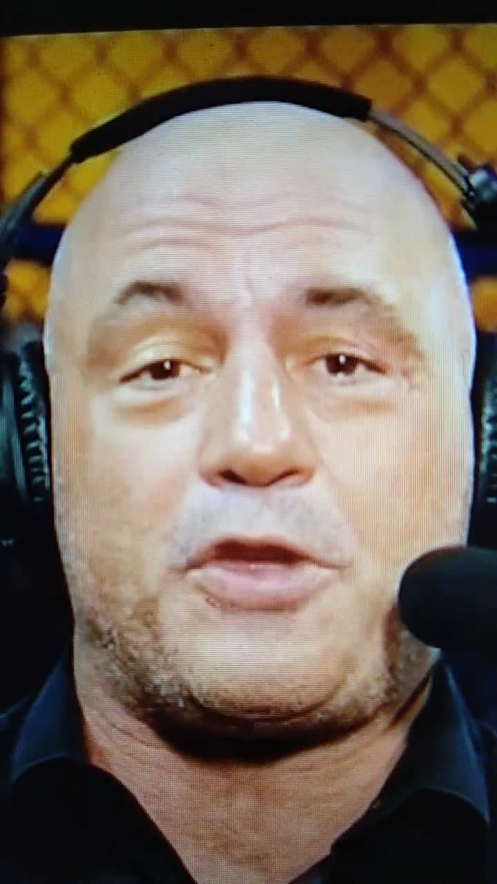 How stoned was Joe Rogan tonight?