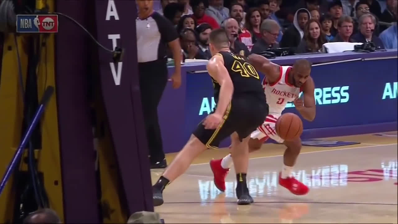 [Highlights] CP3 takes Zubac to the woodshed