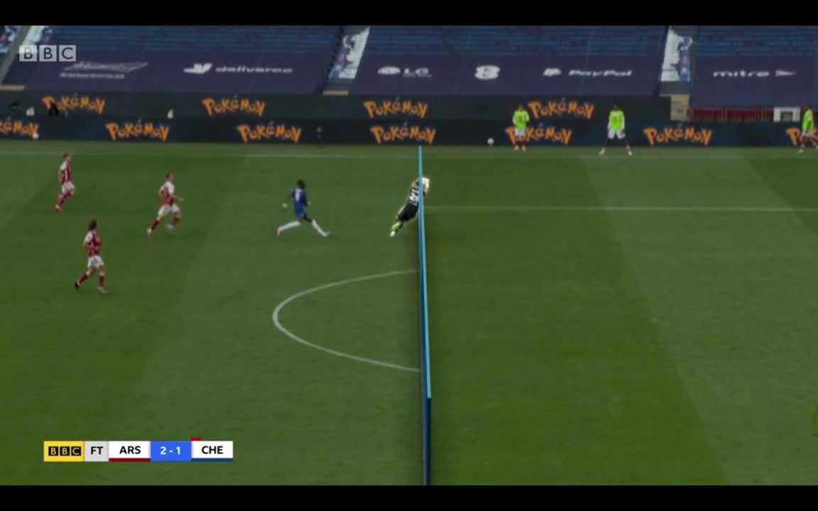 Video Emiliano Martinez handball vs Chelsea 2020 FA Cup Final? Did ...