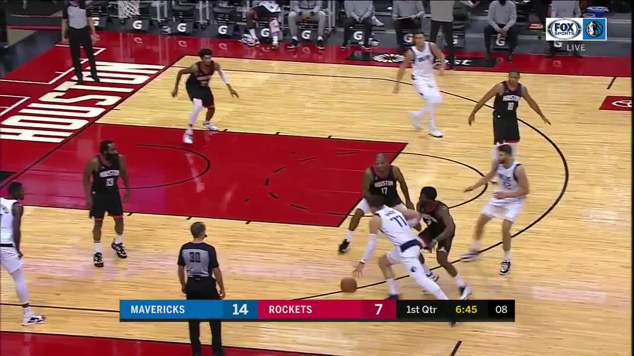 [Highlights] Luka Doncic vs Houston Rockets (33pts/16rbs/11ast)