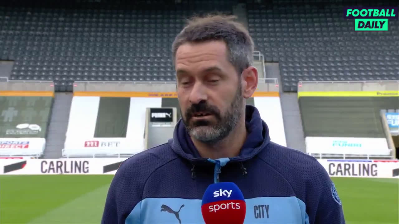 Scott Carson on making his Man City debut and making his first PL appearance since 2011: